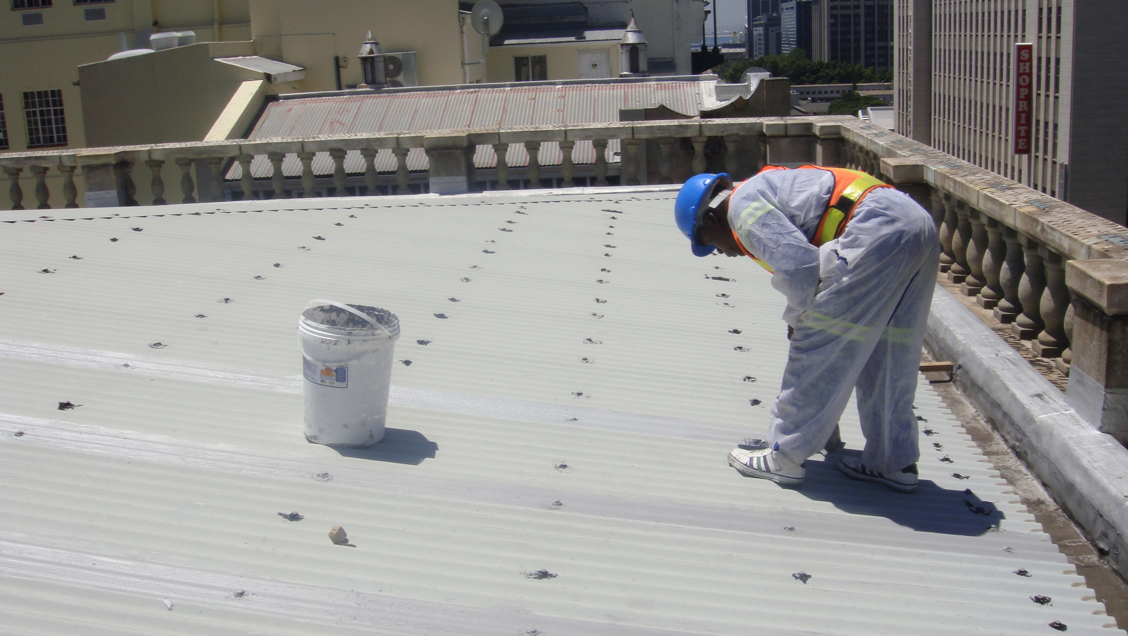 Acrylic VS Silicone Roof
