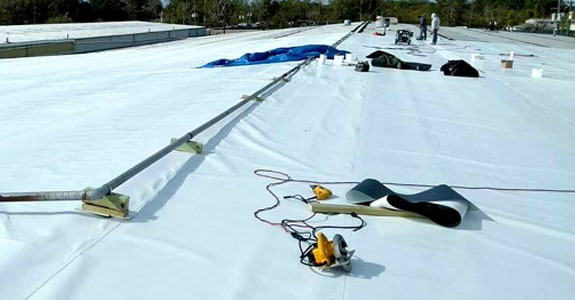 PVC Single Ply Roofing